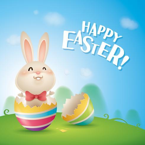 Joyeuses Pâques! vecteur