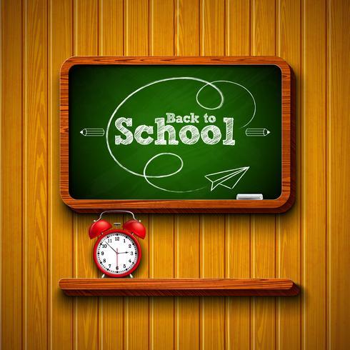 Retour à la conception de l'école vecteur