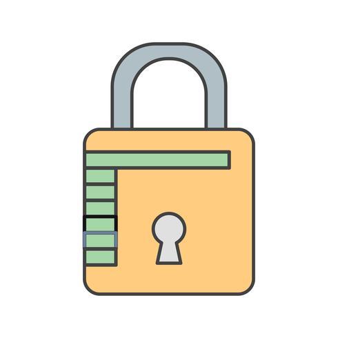 icône de protection de vecteur