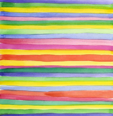 Aquarelle de bande abstraite vecteur