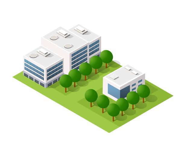 Illustration vectorielle d'architecture vecteur