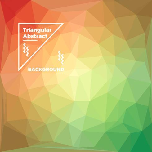 Fond polygonale triangulaire vecteur