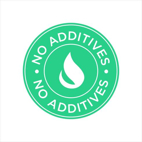Sans additifs. vecteur