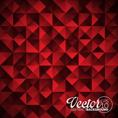 Fond de triangles géométriques de vecteur. Dessin polygonal abstrait. vecteur