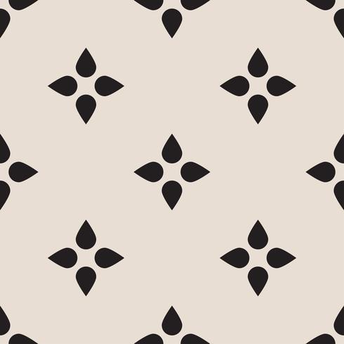 Mosaïque universelle transparente noir et blanc. vecteur