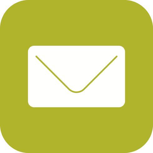 Icône d'enveloppe de vecteur