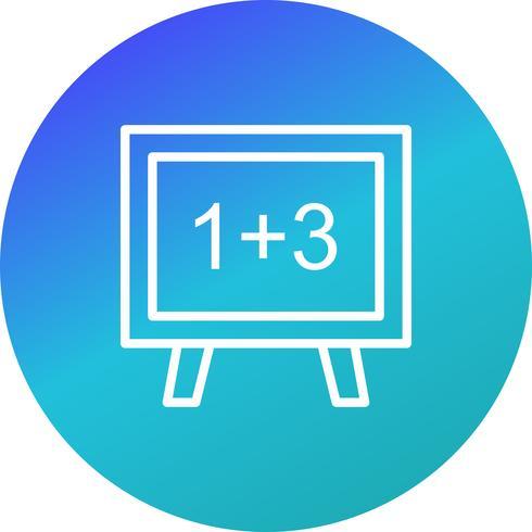 Icône de mathématiques vectorielles vecteur