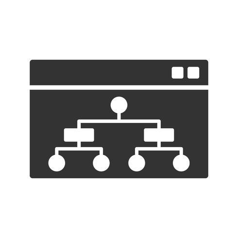 Icône de glyphe vecteur