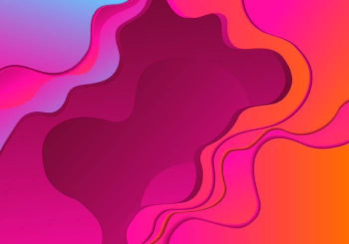 Couleur abstraite 3d pour arrière-plan de présentations de bannières, Flyers, affiches et Invitations vecteur