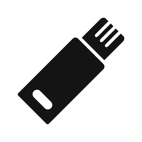 Icône de vecteur usb