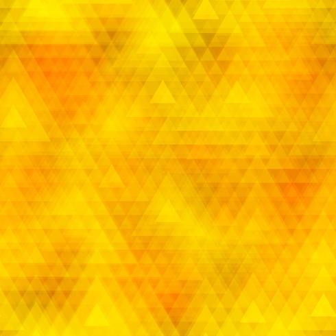 Polygone de triangle coloré et fond transparent. vecteur