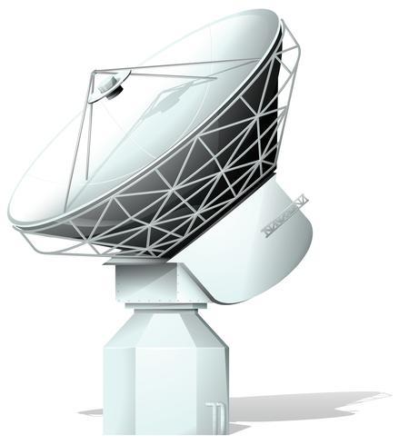 Un spacelight vecteur