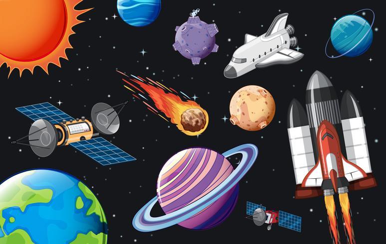 Un modèle d'élément d'espace vecteur
