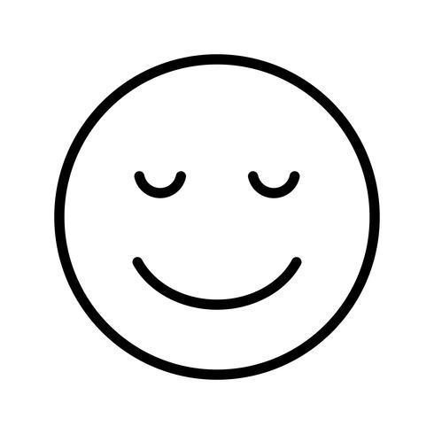 Calme Emoji Vector Icon - Telecharger Vectoriel Gratuit, Clipart Graphique, Vecteur Dessins et Pictogramme Gratuit