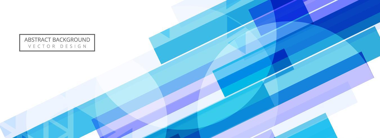 Conception de modèle de bannière vague abstraite vecteur