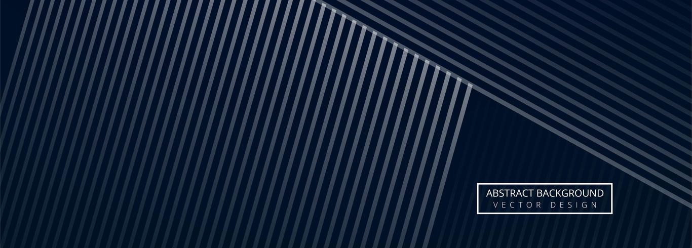 Conception de modèle de bannière géométrique abstraite vecteur