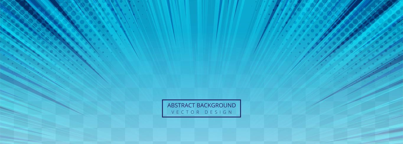 Arrière-plan transparent abstrait rayons bleus vecteur
