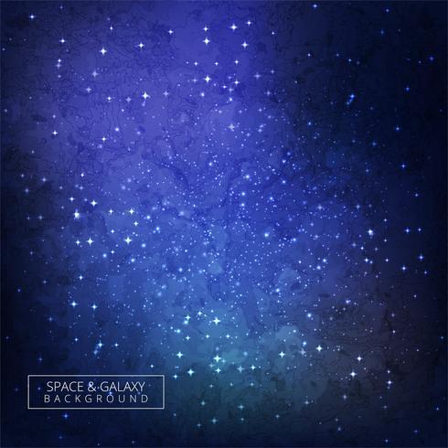Univers d'espace Galaxy de haute qualité vecteur