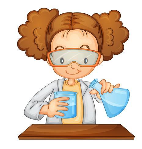 scientifique vecteur