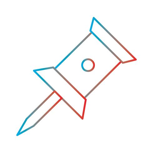 Ligne Gradient Perfect Icon Vector Illustration ou Pigtogram