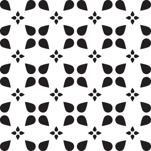 Mosaïque universelle transparente noir et blanc vecteur