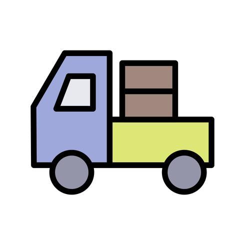 Icône de vecteur de transporteur