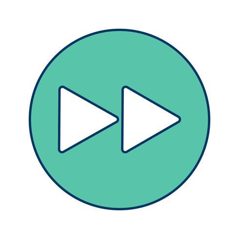 transmettre l'icône illustration vectorielle vecteur
