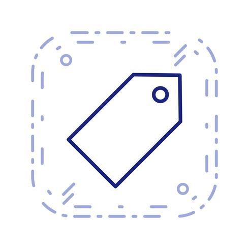 Tag icône illustration vectorielle vecteur