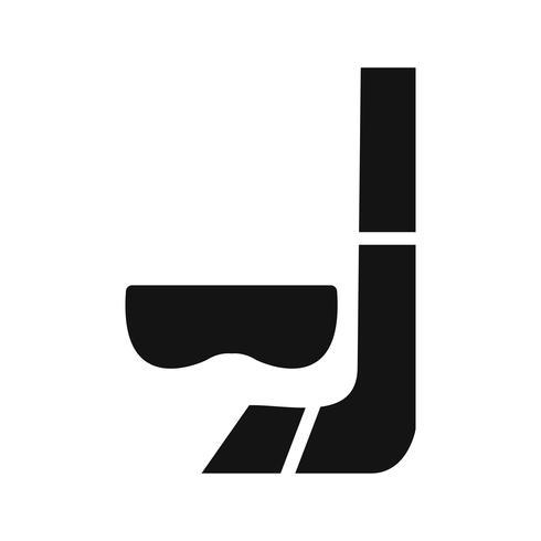 Tuba icône illustration vectorielle vecteur