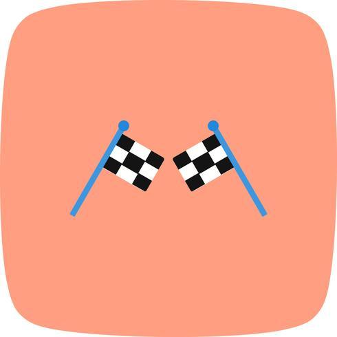 Course icône illustration vectorielle vecteur