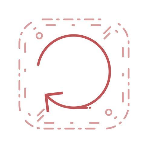 Icône de rafraîchissement de vecteur