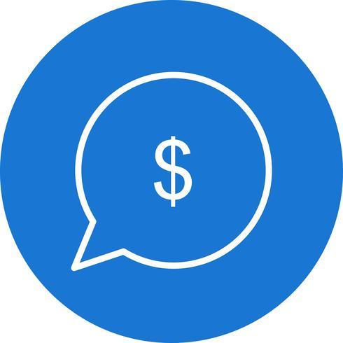 Icône Vector Send Money