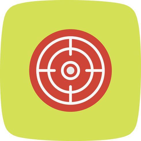 Objectif icône illustration vectorielle vecteur