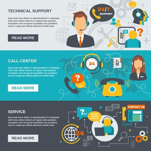 support centre d'appel vecteur