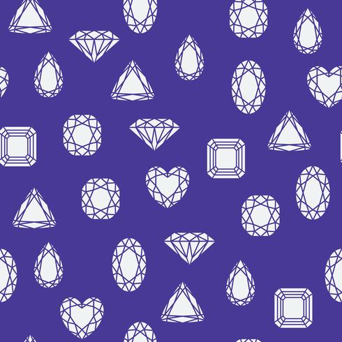 Motif de diamants vecteur