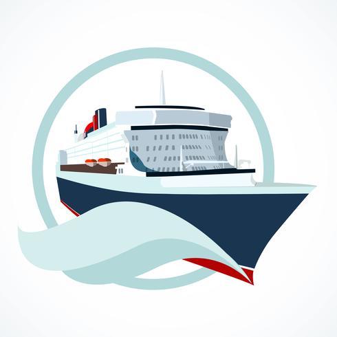 bateau de croisière vecteur