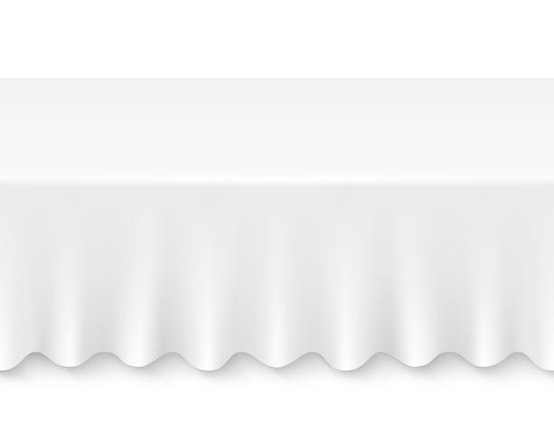table de nappe vecteur