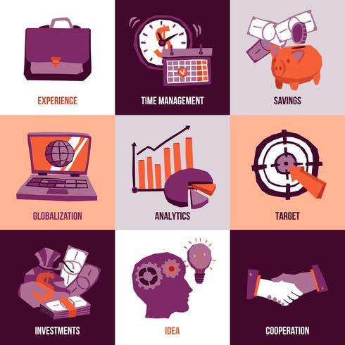 Concept de design d'entreprise vecteur
