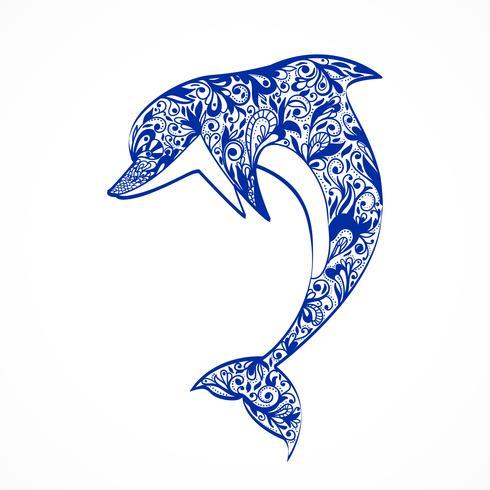 dauphin vecteur
