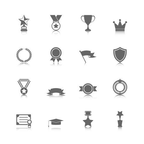 Prix des icônes vecteur