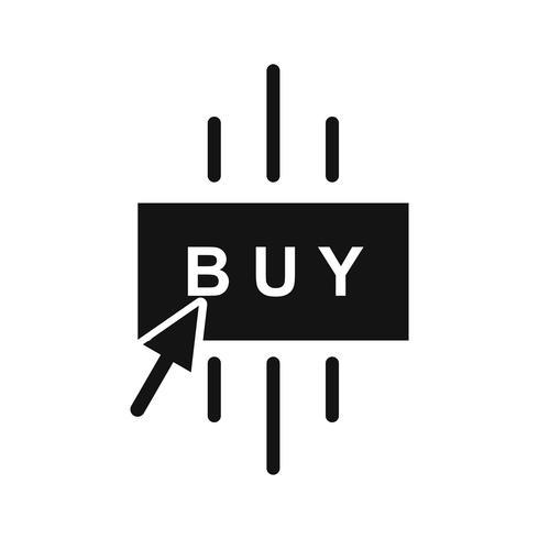 Icône d'achat de vecteur