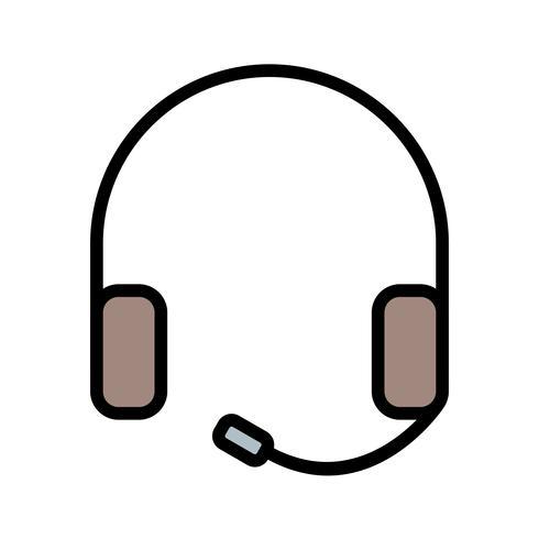 Icône de casque Vector