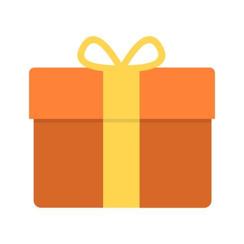 Icône de cadeau de vecteur