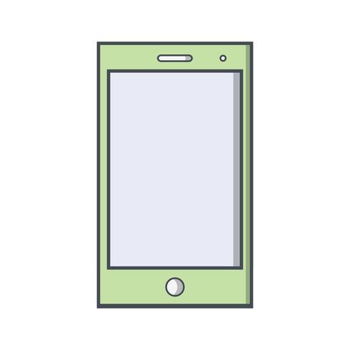 Icône de périphérique intelligent Vector