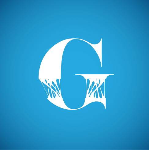Caractère flexible d'un typographe, illustration vectorielle vecteur