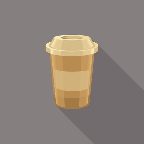 Icônes de café isolés vecteur