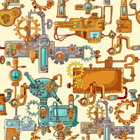 Machines industrielles sans soudure vecteur