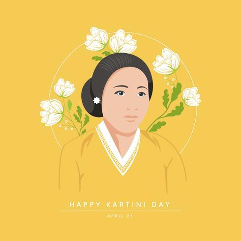 Kartini Day vecteur