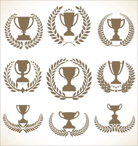 trophée vecteur