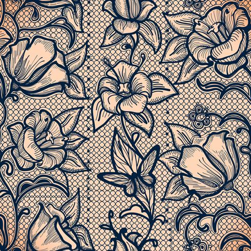 Papier peint infiniment, décoration pour votre design, lingerie et bijoux. vecteur